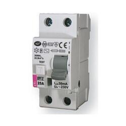 EFI-2A 25A 500mA áram-védőkapcsoló