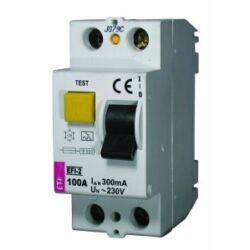 EFI-2AC 100A 300mA áram-védőkapcsoló