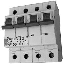 ETIMAT6 C40A 3p+N kismegszakító