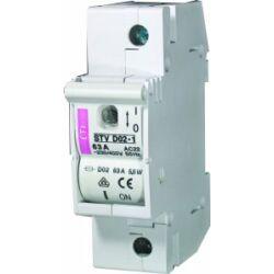 STVD02 1P biztosítós szakaszoló kapcsoló