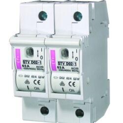 STVD02 2P biztosítós szakaszoló kapcsoló