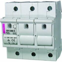 STVD02 3P biztosítós szakaszoló kapcsoló