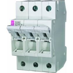 VLD01 10A 3P biztosítós szakaszoló kapcsoló