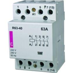 R63-40 24V mágneskapcsoló