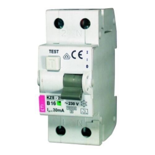 KZS-2M AC B10A 30mA áramvédő kismegszakító