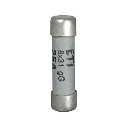 CH8 400V aM 25A hengeres biztosíték