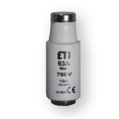 DIII 750V gF 2A biztosíték