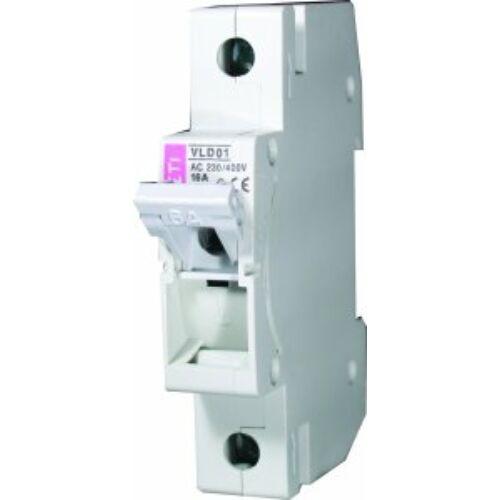 VLD01 13A 1P biztosítós szakaszoló kapcsoló