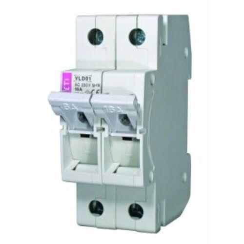 VLD01 16A 2P biztosítós szakaszoló kapcsoló