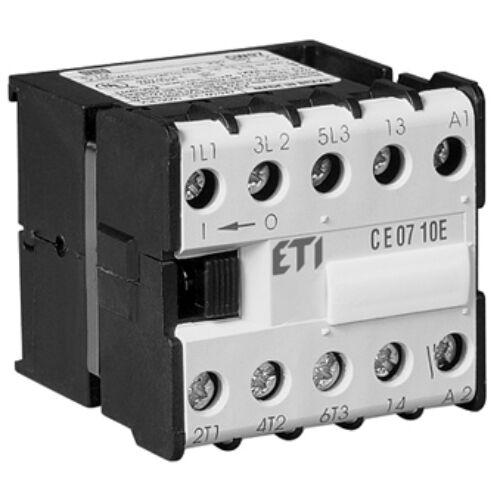 CE07.10 110V  AC mini mágneskapcsoló