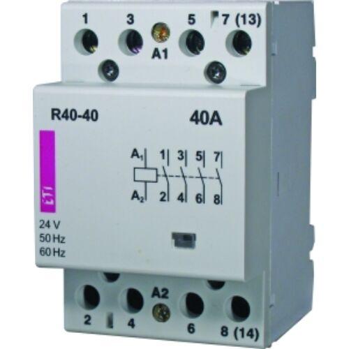 R40-04 24V mágneskapcsoló