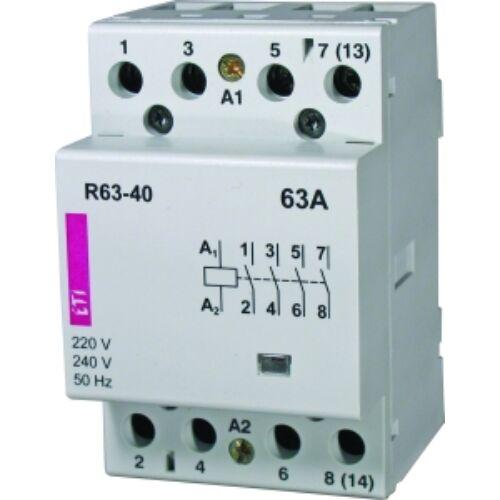 R63-22 230V mágneskapcsoló