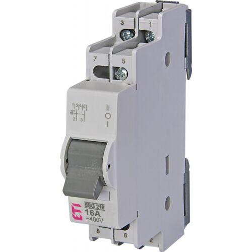 SSG216 három állású kapcsoló