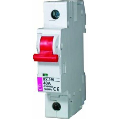 SV1100 1P 100A szakaszoló kapcsoló